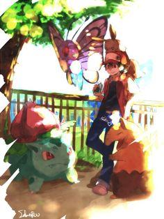 Pokemon Trainer Red