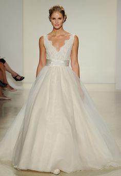 Anne Barge Fall 2015 Wedding Dresses | Kurt Wilberding | http://blog.theknot.com