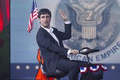 John Oliver at Just For Laughs: Decline of the American Empire? John Oliver, July 31, Just For Laughs, Presidents, Empire, American