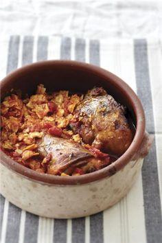 Αρνί γιουβέτσι με χυλοπίτες Greek Recipes, Ratatouille, Pork, Yummy Food, Chicken, Meat, Ethnic Recipes, Easter, Projects