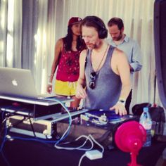 Private Party with Radiohead's Thom Yorke  spinning an ecclectic mix of Afrobeat + neo-chillwave    Coachella    2012