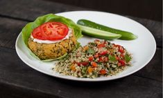 Veggie Burger | Soy-free Vegetable Filled Recipe