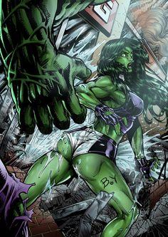 sexy she hulk   She_Hulk_VS__Hulk___colored_by_barisyilmaz.jpg