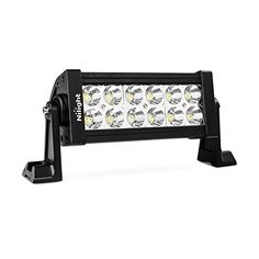 """Nilight 7"""" 36w Spot LED Work Light Off Road LED Light Bar 12v Driving Lights Super Bright for Jeep Cabin Boat SUV Truck Car ATVs,2 Years Warranty -  Specification: LED Power: 36 W (12 x 3W LED) Beam: Spot Beam Voltage: 9-30V DC Waterproof Rate: IP67 LED Color Temperature: 6000K-6500K Working Lifespan: over 30,000 hours Working Temperature: -40~ 85 degrees Material: 6063 Aluminum Profile, Stainless Steel Bracket, PC Lens Supplement: Aluminum ..."""