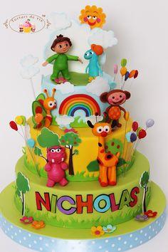 Tort Baby Tv pentru Nicholas