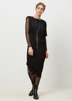 Sheer Tulle Bodysuit by Ann Demeulemeester
