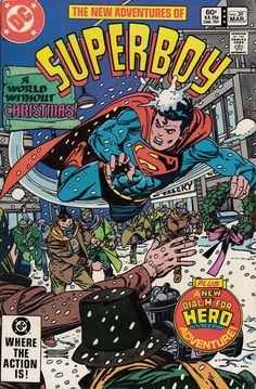 Cover for The New Adventures of Superboy (DC, 1980 series) #39 [Direct-Sales]