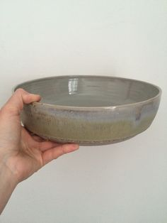 Shop for pottery on Etsy, the place to express your creativity through the buying and selling of handmade and vintage goods. Salad Bowls, Dinnerware, Serving Bowls, Stoneware, My Etsy Shop, Fruit, Tableware, Vintage, Dinner Ware