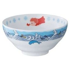 Ponyo Rice bowl Ponyo on the cliff  by sea Studio Ghibli from JAPAN