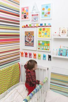 Marlene Zufic ♥: Färgglatt barnrum