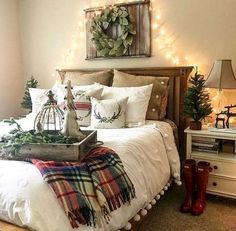 Beautiful rustic farmhouse master bedroom ideas (90)
