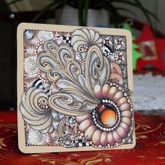 Lily's Tangles: Some tiles between Christmas and now.