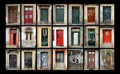 Fonds d'écran Constructions et architecture > Fonds d'écran Portes - Fenêtres - Porches Porte à Porte à Porto par bucheronblond - Hebus.com