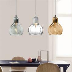 Cheap Pendant Lights, Kitchen Pendant Lighting, Modern Pendant Light, Glass Pendant Light, Pendant Light Fixtures, Glass Pendants, Modern Loft, Loft Style, Glass Design