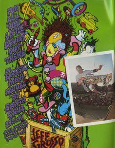 Santa Cruz Skateboards - Grosso Mini Model Ad (1987)