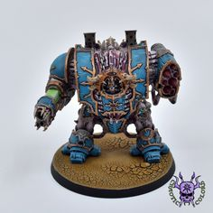 Thousand sons (Tzeentch) - Helbrute #ChaoticColors #commissionpainting #paintingcommission #painting #miniatures #paintingminiatures #wargaming #Miniaturepainting #Tabletopgames #Wargaming #Scalemodel #Miniatures #art #creative #photooftheday #hobby #paintingwarhammer #Warhammerpainting #warhammer #wh #gamesworkshop #gw #Warhammer40k #Warhammer40000 #Wh40k #40K #chaos #warhammerchaos #warhammer40k #tzeentch #thousandsons #Helbrute #Dreadnought Thousand Sons, Warhammer Models, Warhammer 40000, Tabletop Games, Space Marine, Gw, Miniatures, Fantasy, Marines