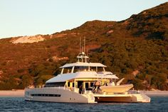 Luxury expedition catamaran Open Ocean launched