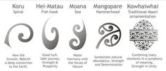 maori symbols and meanings - Google Search