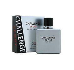 Challenge Sport Pour Homme Eau De Toilette 3.4 Perfume By Diamond Collection