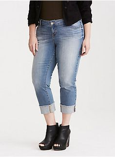 <div>Our White Label denim is casual American style - designed and fit just for you. It's authentic, lived-in fashion that's fun and sexy. <i>Wear what you love</i>.</div><div> </div><div>We have trouble finding a perfect Boyfriend IRL, but we're committing to these Boyfriend Jeans! The hand-sanded light wash denim has that coveted vintage look with extreme fading; however, the relaxed hip and thigh paired with the slim straight leg feel brand new. A frayed crop hem keeps it casual.</di...