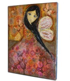 I am a self-taught artist. I like angels, fairies, butterflies, and ladybugs. Of course, I love art. Especially Frida Kahlo's, she is my inspiration.  You can find my art for sale here:  My Etsy...