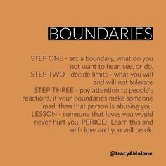 Boundaries Quotes, Setting boundaries is important for abuse victims