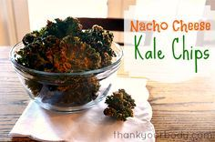 Nacho cheese kale chips: So good and so good for you!
