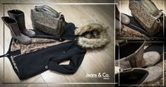 #JeansandCocollezioni Casual winter #outfit: ti aspettiamo in negozio! Gio Cellini #outfit #woman