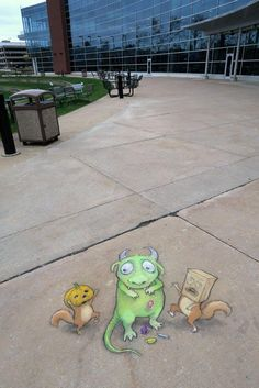 David Zinn in Lauderdale-by-the-Sea, Florida, USA, 2015