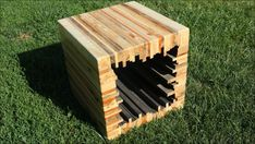 Make a Modern Pallet Stool / Coffee Table