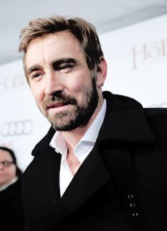#LeePace attends the Toronto premiere of The Hobbit: The Battle of the Five Armies 12/6/14.