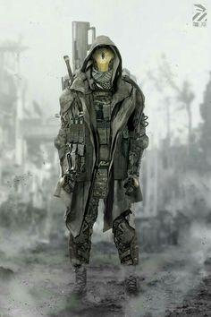 Soldier. Yaoi. Cyberpunk. Mission.