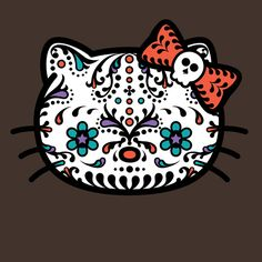 Hello Kitty Sugar Skull T-shirt