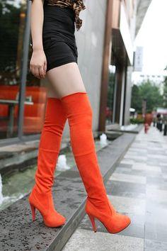 5fef4c240ef10f 2013 Fall/Winter Women Faux Suede High Heels Thigh High Boots #thigh #high