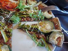pizza de trigo sarraceno y chia