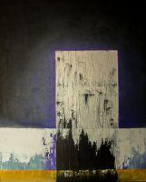 Monolith V. Oil and gesso on canvas. 81x65 cm.  http://kainvk.deviantart.com