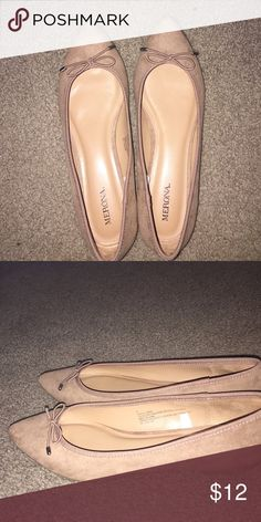 Nude/tan flats Never worn, but do not have tags Shoes Flats & Loafers