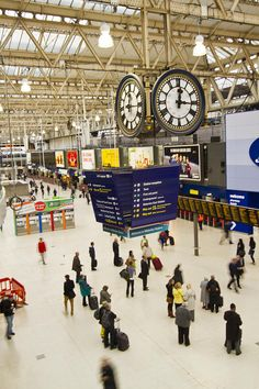 WATERLOO STATION | LAMBETH | LONDON | ENGLAND: *Central London terminus for South West Trains*