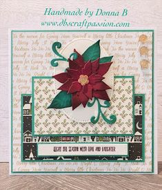 Morning Everyone Well thats me moved to West Wales and loving it, craft room set up so its time to start the Christmas cards. Room Set, Christmas Cards, Passion, Seasons, Handmade, Crafts, Christmas E Cards, Hand Made, Manualidades