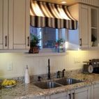 Want to make this valance for our kitchen