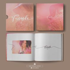 Wedding Album Cover, Wedding Album Design, Media Design, Web Design, Album Digital, Magazine Layout Design, Print Layout, Album Book, Website Themes