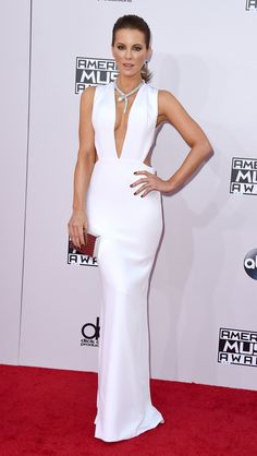 Who: Kate Beckinsale Wore: Kaufmanfranco Where: 2014 American Music Awards via @stylelist | http://aol.it/1FjTLdX