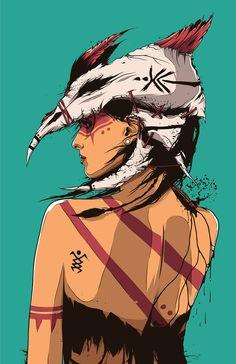 Conrado Salinas, art, illustration,
