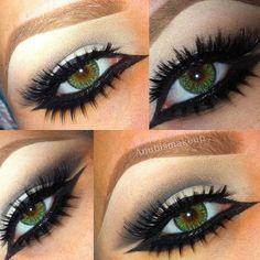 Lashes lashes lashes !!! #anubismakeup - @Amberd Garcia