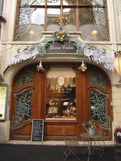 A sweet shop in Rouen