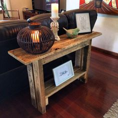 Pallet Hall Table by PalletLifeAustralia on Etsy