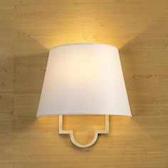 Modern Classic Wall Sconce (3 finishes!) Considering getting these for new house - love sconces!