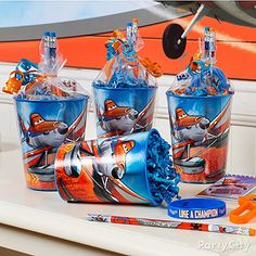 Planes Party Ideas: Favors - Click to View Larger