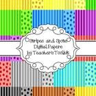 {Freebie} Stripes and Spots Digital Background Papers: This zip file contains 45 pages (includes Cover Page and TOU).A range of stripes and spots digital background papers to enhance your creations!...