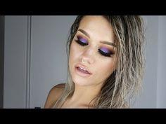 COLORFUL SMOKEY | ABH Artist Palette - YouTube Makeup Lips, Kiss Makeup, Love Makeup, Beauty Makeup, Beauty Tips, Beauty Hacks, Hair Makeup, Hair Beauty, Burnt Orange Eyeshadow